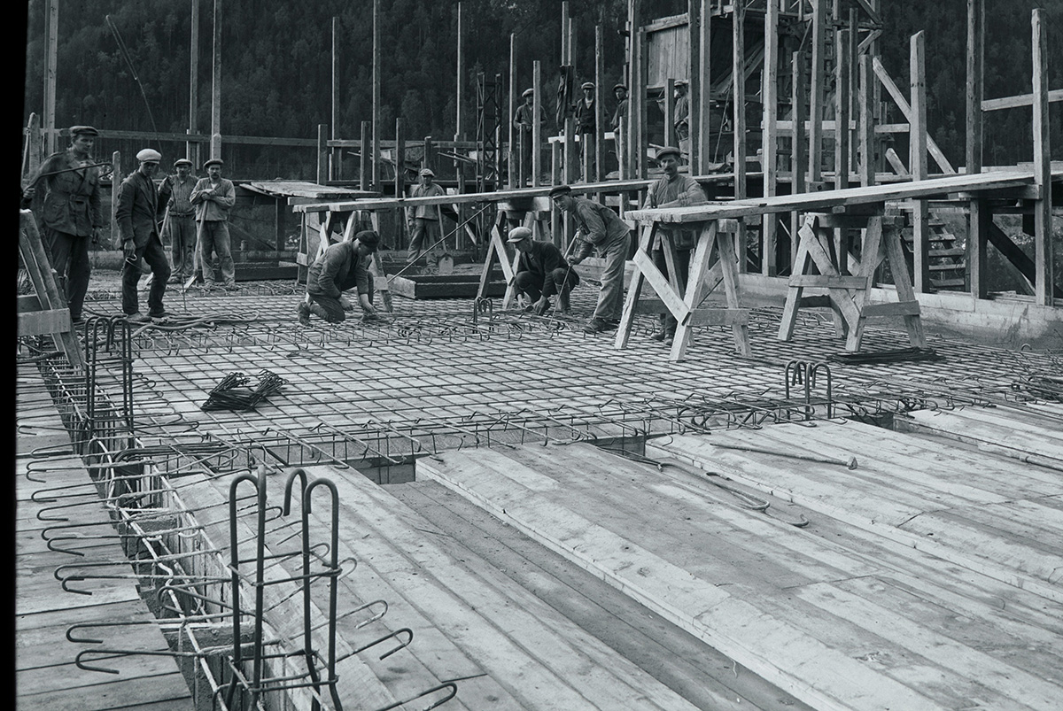 Construction of Nore Power Plant, Norway-1925