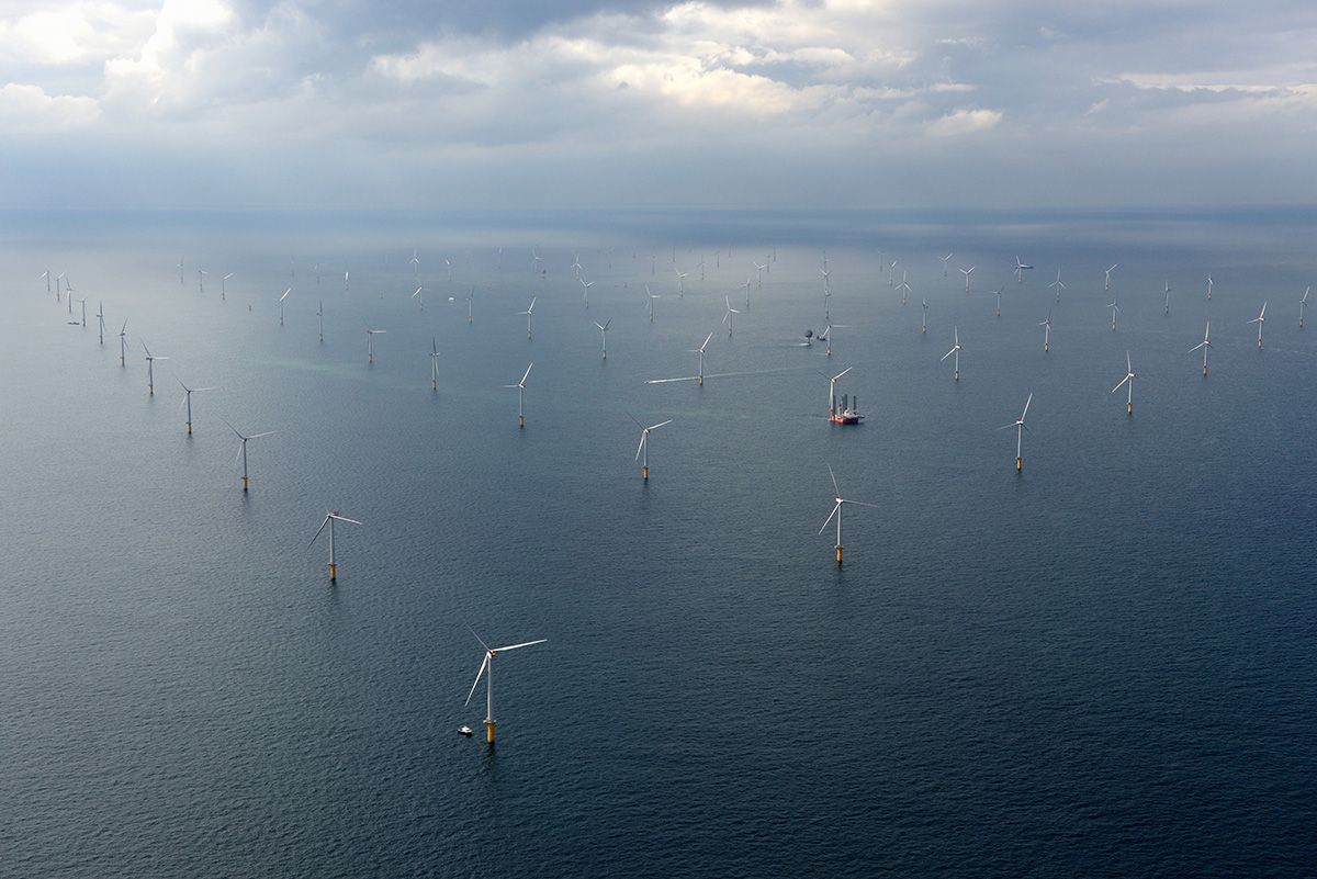 Sheringham Shoal Offshore Wind Farm, United Kingdom