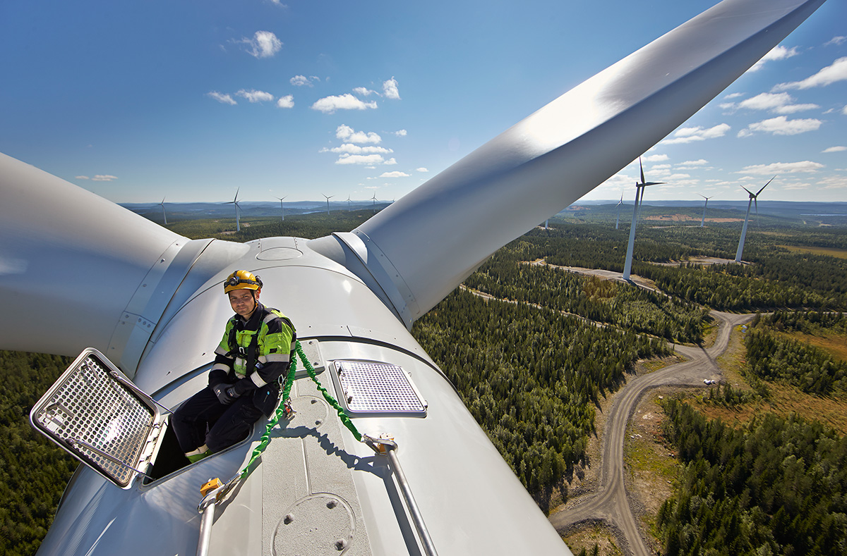 Stamåsen Wind Farm, Sweden